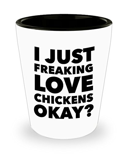 Shot Glass Chicken Lover Themed Gifts for Men