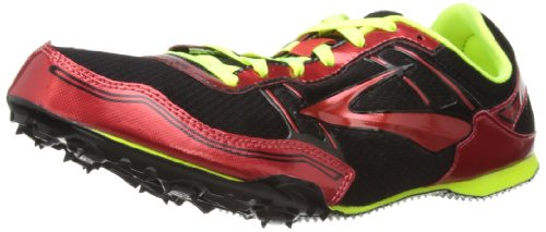 Brooks Men's PR MD 46.61 Track Spikes, Color: Red, Size: 8.0 Brooks Running Spikes