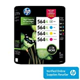 HP Photsmart 564XL 4 Pack C,M,Y and Photo Black, Office Central