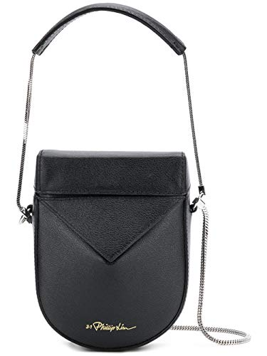 3 Lim AP18A020MCCBA001 Leather Phillip Bag Black 1 Women's Shoulder rqEOzrp