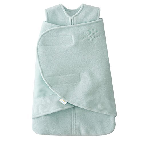 - HALO SleepSack Micro-Fleece Swaddle, Mint / Pink, Preemie 2-Pack