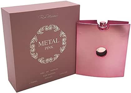 Ron Marones Metal Pink for Women 3.4 oz. EDP Spray, 100 ml