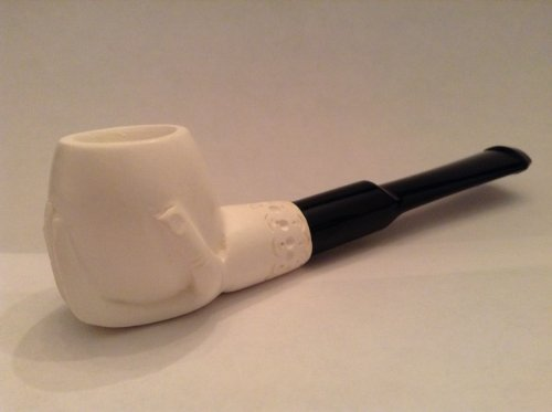 Meerschaum Pipes - Mini Hand Finished Hand Holding Bowl ()