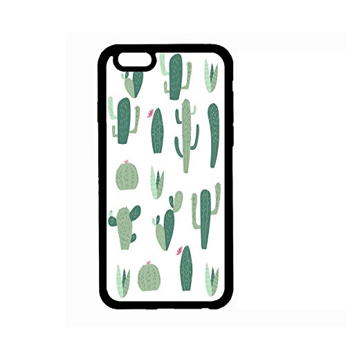 PROEVER iPhone 6/6s Case Cactus iPhone Case for Girls TPU Soft Rubber Silicone Cover Phone Case
