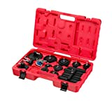 ARES 18007-12-Piece Master Cylinder Adapter Set - Included Adapters Work on Most Current Master Cylinder Reservoirs - Use with Brake Fluid Bleeders