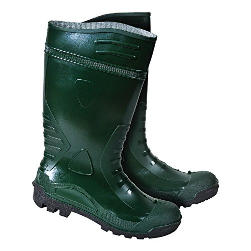 Sicherheitsschuhe BGNITS4 40-47 Arbeitsschuhe Gummistiefel Gummischuhe Anglerschuhe Wasserfest Grün