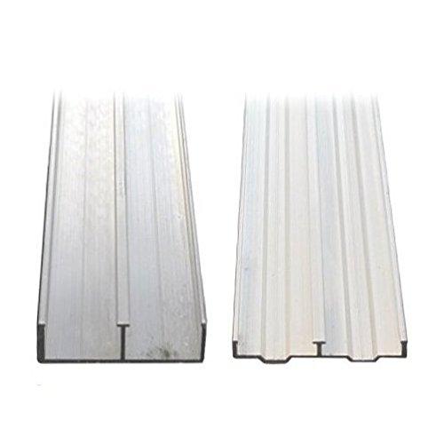 3/4'' X 4' Aluminum Sliding Door Track