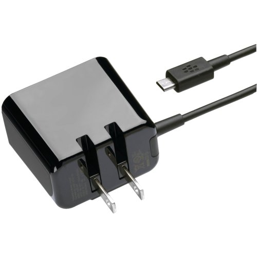 Blackberry Folding Blade Charger for Playbook (Black) (Playbook Tablet)