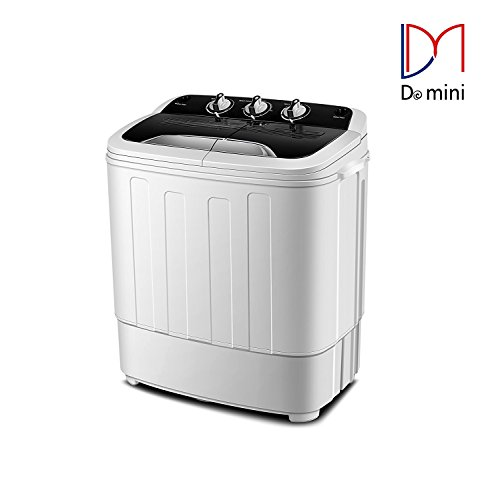 Do mini Portable Compact Twin Tub 13Ibs Capacity Washing ...