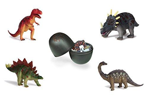 [해외]20 개의 DIY 3D 퍼즐 Mini Dinosaur 파티의 대형 공룡 달걀에 Miniature Dinosaurs 제공/20 DIY 3D Puzzle Miniature Dinosaurs In Large Dinosaur Egg - Eggs With Mini Dinosaur Party Favors Gift Giveaway
