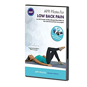 APPI Pilates for LOW BACK PAIN Flagship DVD Updated Version 27