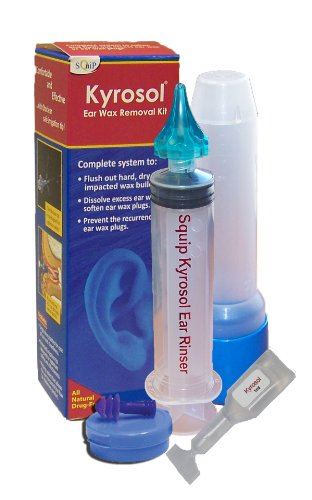 Squip Kyrosol-Ear Wax Removal Kit (Ear Wax Removal System)