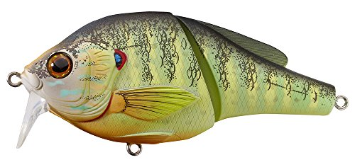LIVE TARGET Koppers Pumpkinseed Floating Wakebait, 3-3/4-Inch, Natural/Matte Review