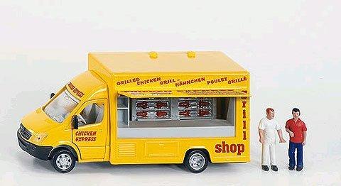 おもちゃ Siku Mobile Shop - Yellow レプリカ ミニチュア ミニカー 模型 車 飛行機 人形 [並行輸入品] B00ZLS8IP0
