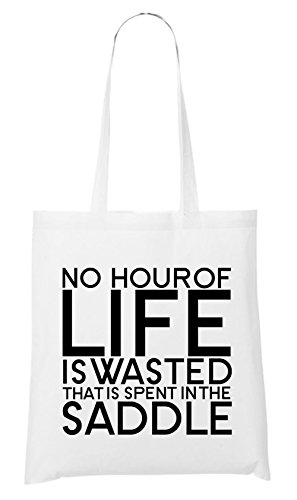 No Hour Of Live Is Wasted Bag White Certified Freak