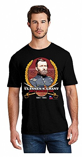 Ulysses S. Grant North American Tour T-Shirt (Large) Black