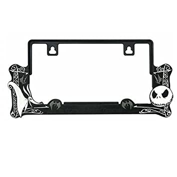 License frame Nightmare Before Christmas Disney Car Accessories [Toy ...