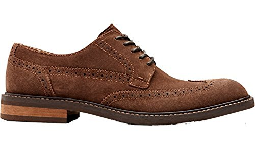 Vionic Heren Bruno Oxford Shoe Donkerbruin