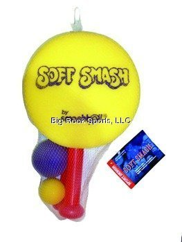 Soft Smash - Racquet Game Set, Lightweight and Portable, Colors May Vary -
