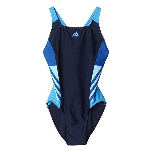 adidas I Ins 1Pc - Bañador para mujer Azul (Maruni/Eqtazu/Briazu/Azusol)