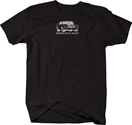Distressed - Classic Chevy Chevelle Nova Muscle Car V8 SS Tshirt - 5XL