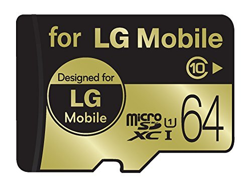 LG Mobile 64GB MicroSDXC Micro SD High Performance UHS-1/Class 10 Micro SD Micro SDXC up to 50MB/s Memory Card (Sd Card For Lg Phone compare prices)