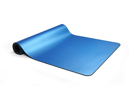 GTVERNH-Rubber Yoga Mat rubber non slip high temperature yoga mat fitness mat yoga mat 60180cm (CM) by GTVERNH