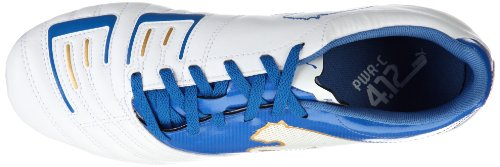 Puma Powercat 4.12 Fg Stevige Grond Heren Voetbalschoen Wit / Royal Wit