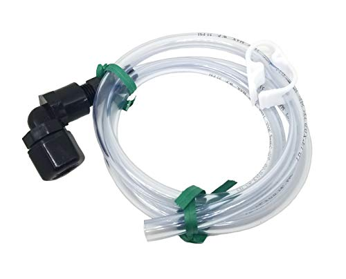 (L & R Ultrasonic Drain Hose with Clamp)