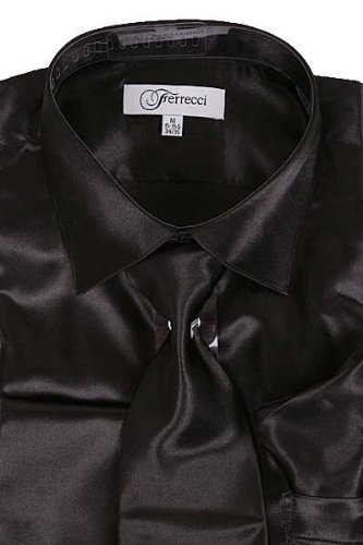 Shining Black Shirt | Is Shirt