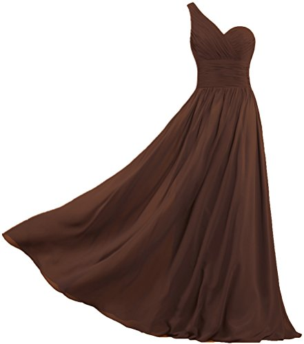 brown dresses for prom - 7