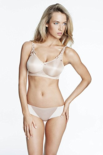 Dominique Ultimate Minimizer Wire-Free Bra, 32D, Nude (Free Minimizer Wire)