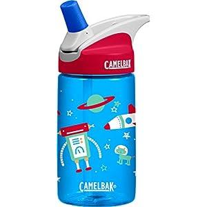 CamelBak Kids Eddy Water Bottle, Space Robots, 0.4 L