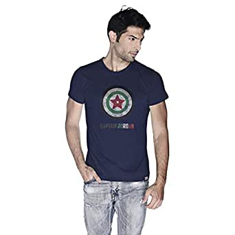 Creo Captain Jordan T-Shirt For Men - S, Navy