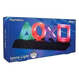Playstation Tasten Symbol Lampe mit Farbwechsel Funktion