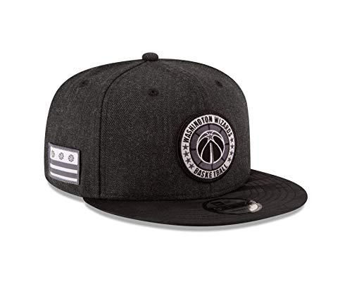 New Era Washington Wizards 2018 NBA Tip-Off Series 9FIFTY Snapback Adjustable Hat – Black