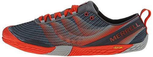 Merrell Men's Vapor Glove 2 Trail Running Shoe, Grey/Spicy Orange, 11 M US by Merrell (Image #5)