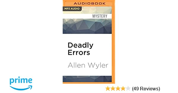 Amazon Deadly Errors 0889290833426 Allen Wyler A T