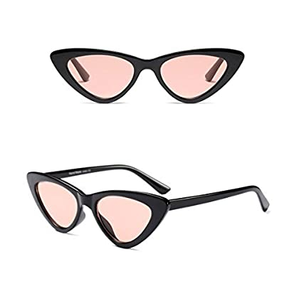 d75f7dd8a5 Cat Eye Sunglasses for Women - Clout Goggles Style - Vintage Black   Retro  Pink