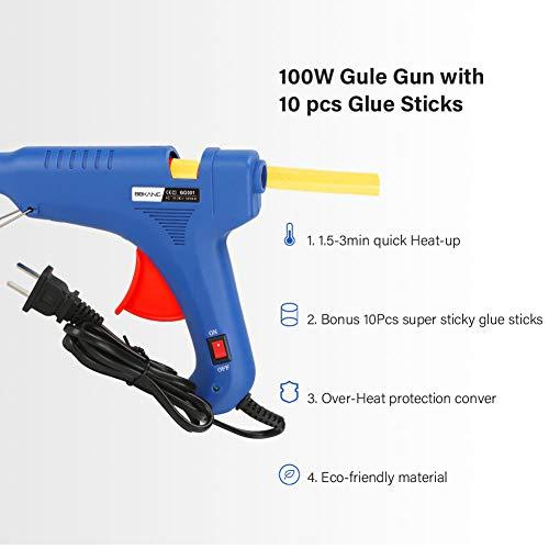 BBKANG Paintless Dent Repair Tools - Car Dent Removal Kit Golden Dent Lifter Bridge Dent Puller Kit Safe Glue Sticks Pops a Dent Tool for Car Dent Door Ding Hail Dent Remover Repair by BBKANG (Image #5)