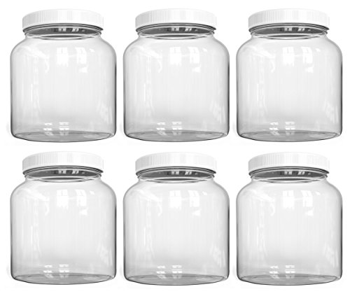 64 oz jars wide mouth - 8