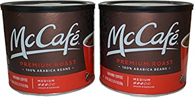 McCafe Premium Medium Roast Coffee, 30 Ounce (Pack of 2)