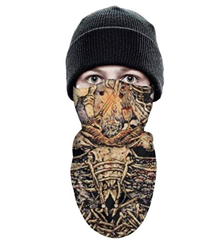 K7Top Full Printing OutdoorTactical Winter Face Mask Shields