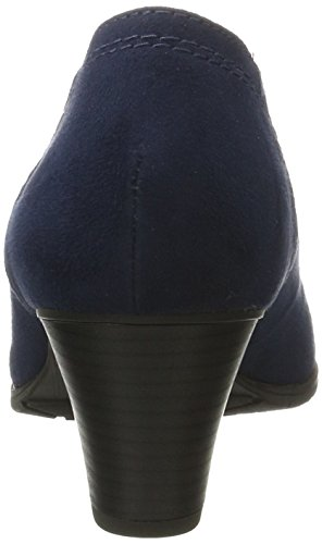 Linea Morbida Damen 22461 Pumps Blau (navy)