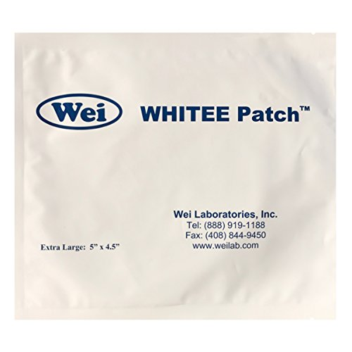 Wei Laboratories, WHITEE Patch Extra Large 5'' x 4.5'' by Wei Laboratories
