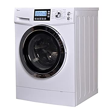 Midea 2.0 Cu. ft. Front Loading Washer and Dryer Combo (US-FC70-DS12DSH)