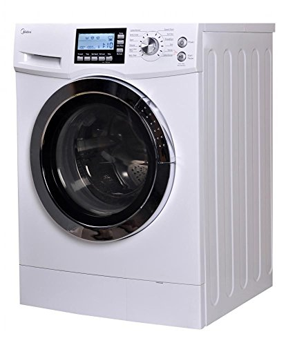 midea US-FC70-DS12DSH 2.0 Cu. ft. Fa Loading Washer and Dryer Combo, White