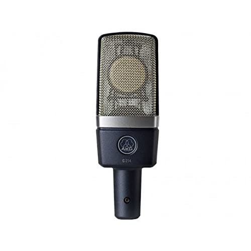 Image of AKG C214 Large Diaphragm Condenser Microphone with Samson Pop Filter and Cable Multipurpose