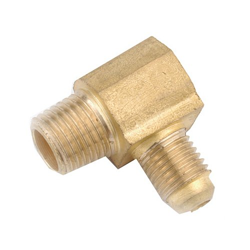 Inch Flare x 1//4 anderson metals corp 3//8 Inch Male Iron Pipe Thread Elbow