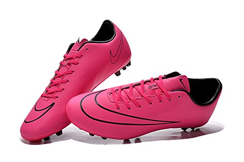 zhromgyay Shoes Herren Rose Rot Mercurial Superfly AG Fußball Fußball Stiefel